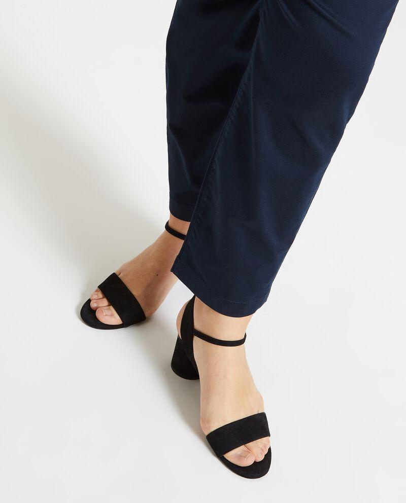 Pantaloni in tinta unita Curvy