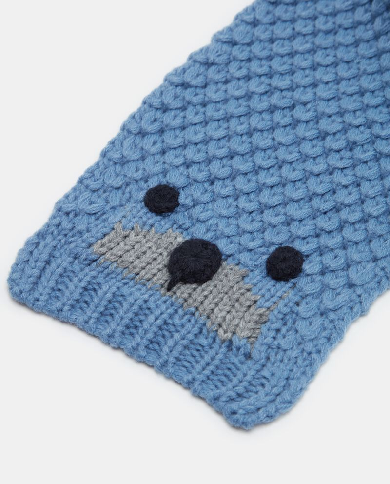 Sciarpa crochet neonato