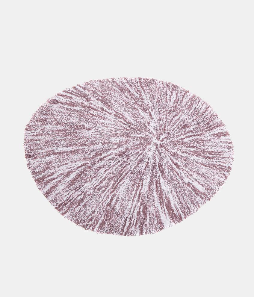 Tappeto bagno ovale effetto degradé