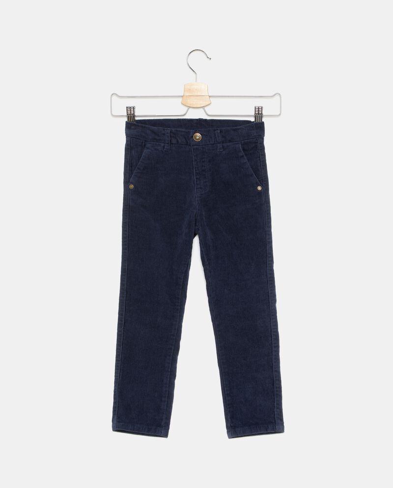 Pantaloni effetto velluto bambino