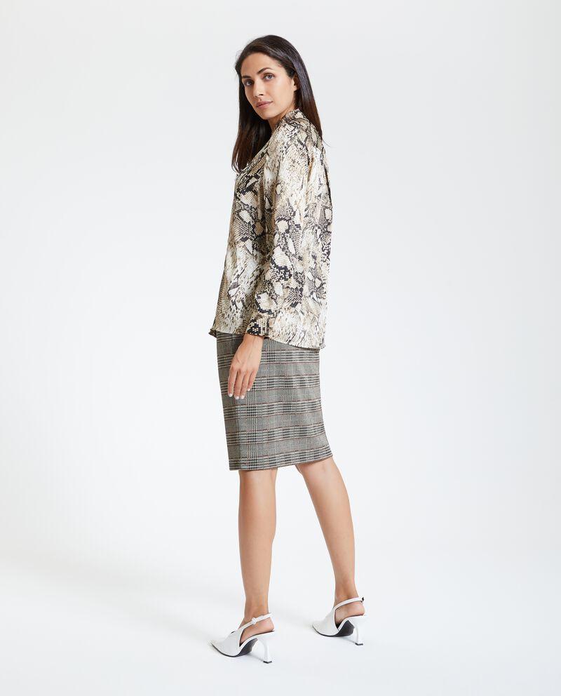 Camicia pitonata donna