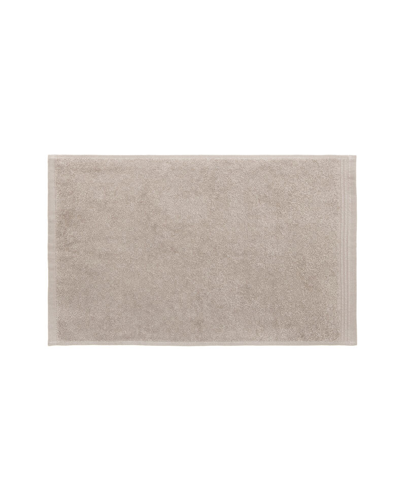 Asciugamano viso tinta unita bordatura