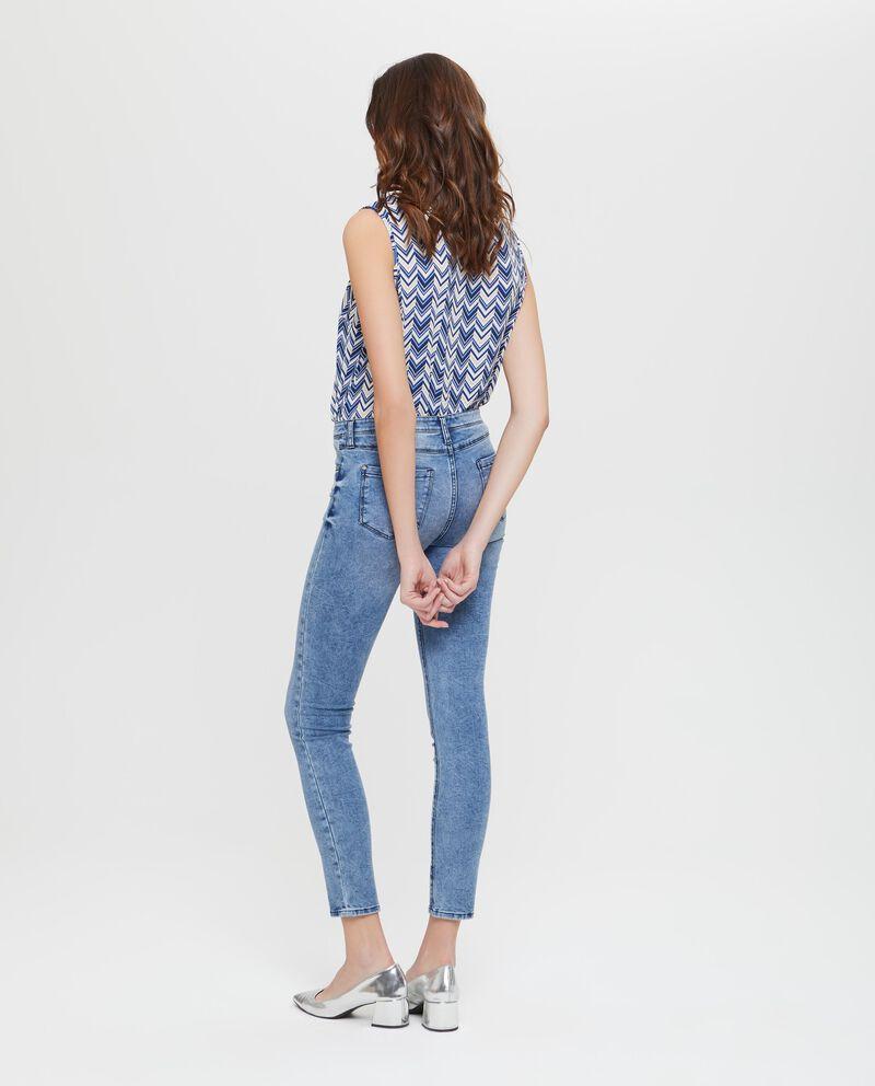 Jeans elasticizzati effetto delavato