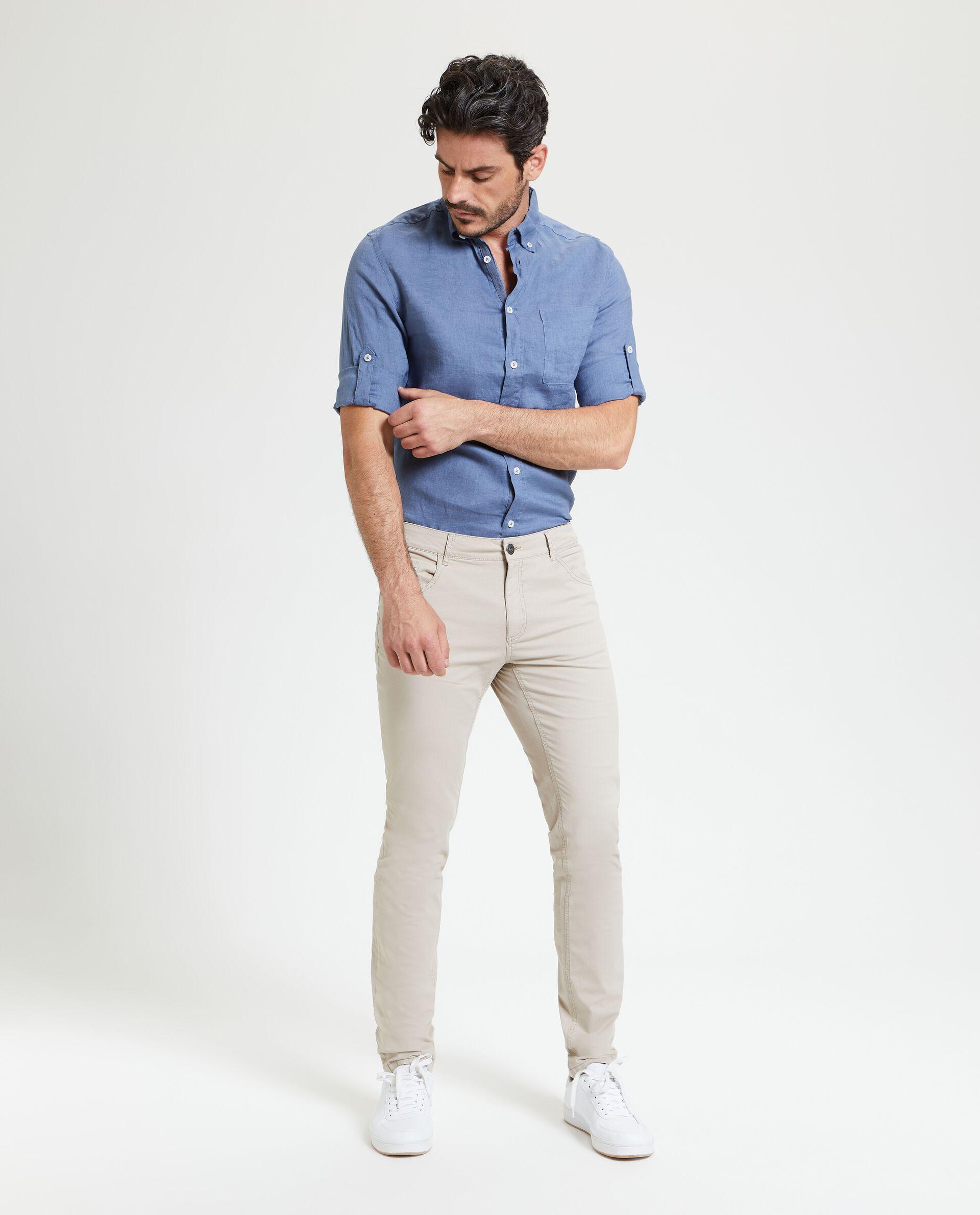 Pantaloni cinque tasche uomo