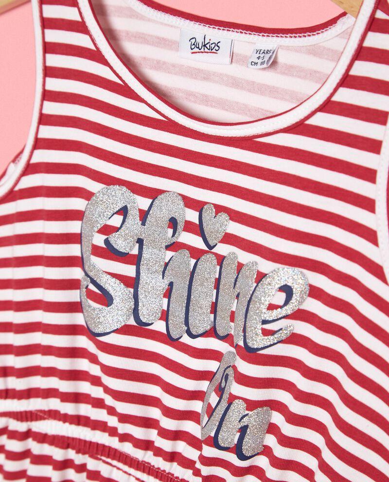 Vestito bambina in cotone biologico jersey stretch