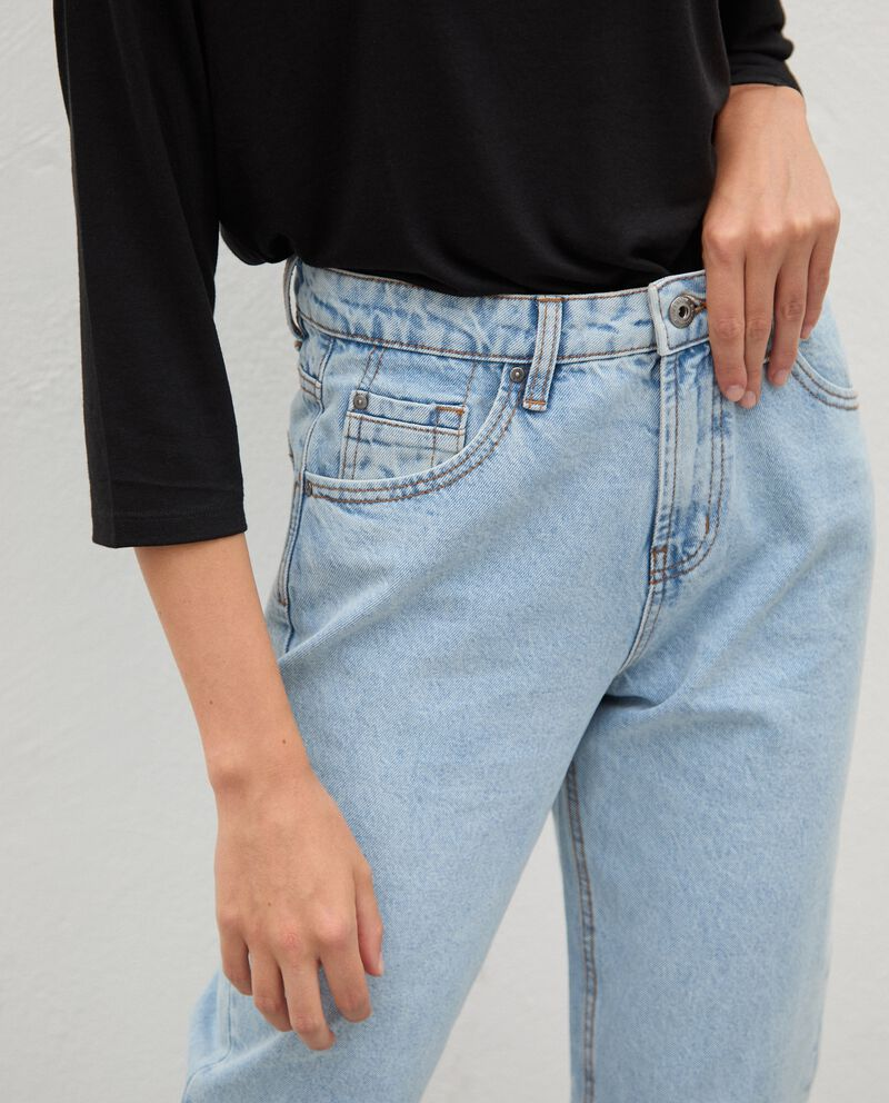 Jeans fit mom donnadouble bordered 2