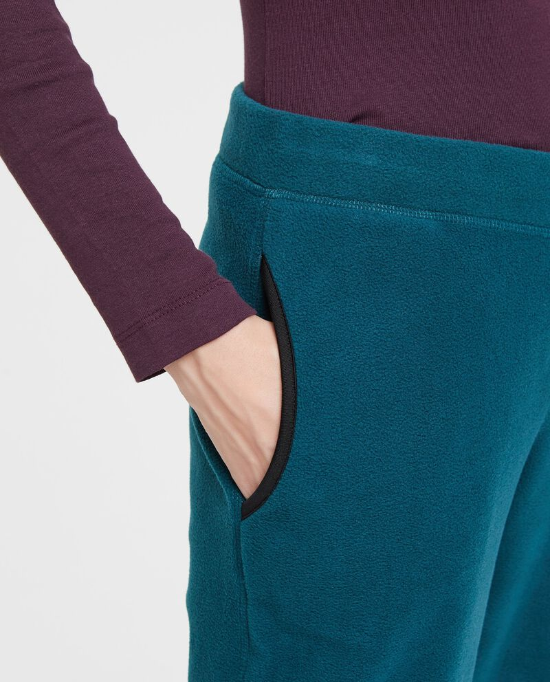 Pantaloni sportivi tinta unita tasche