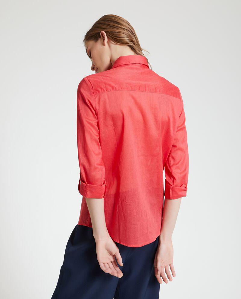 Camicia puro cotone trasparente donna single tile 1