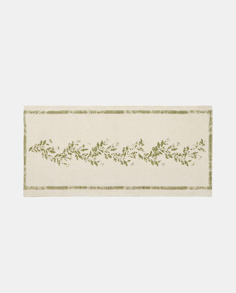 Sottolavello in cotone stampa floreale