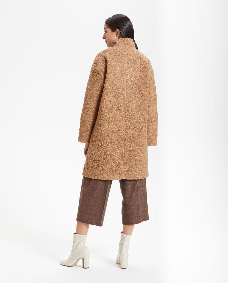 Cappotto bouclé donna