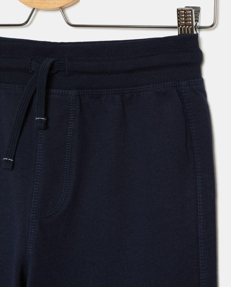 Pantaloni tuta in puro cotone ragazzo
