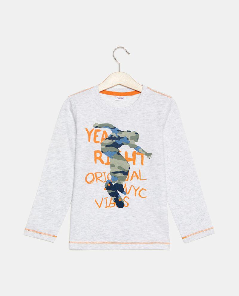 T-shirt a maniche lunghe con disegno bambino