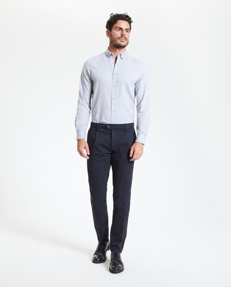 Pantaloni eleganti in tinta unita uomo