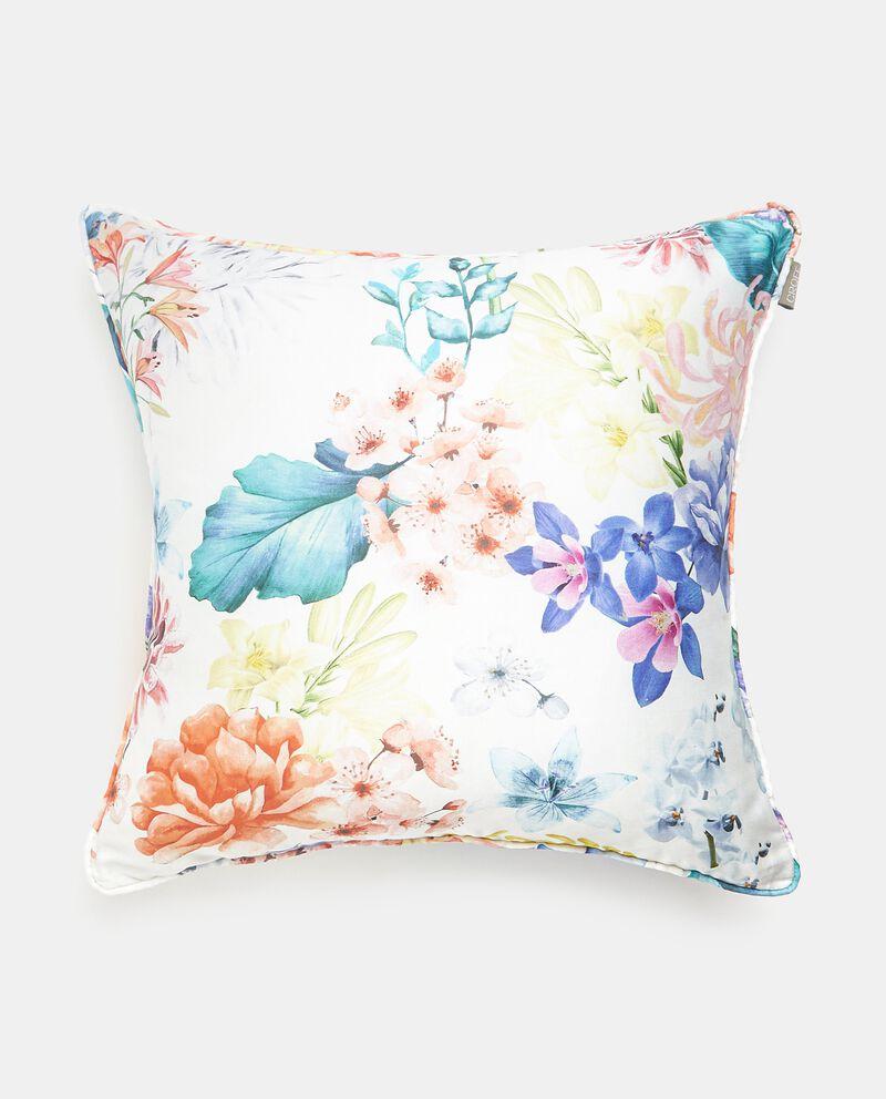 Cuscino con stampa fiori