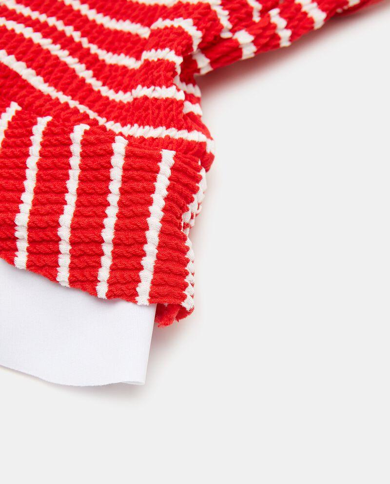 Costume intero goffrato neonata single tile 1