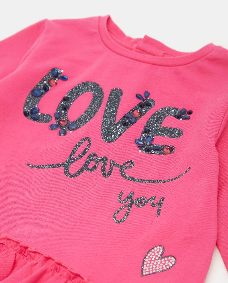 T-shirt con volant neonata