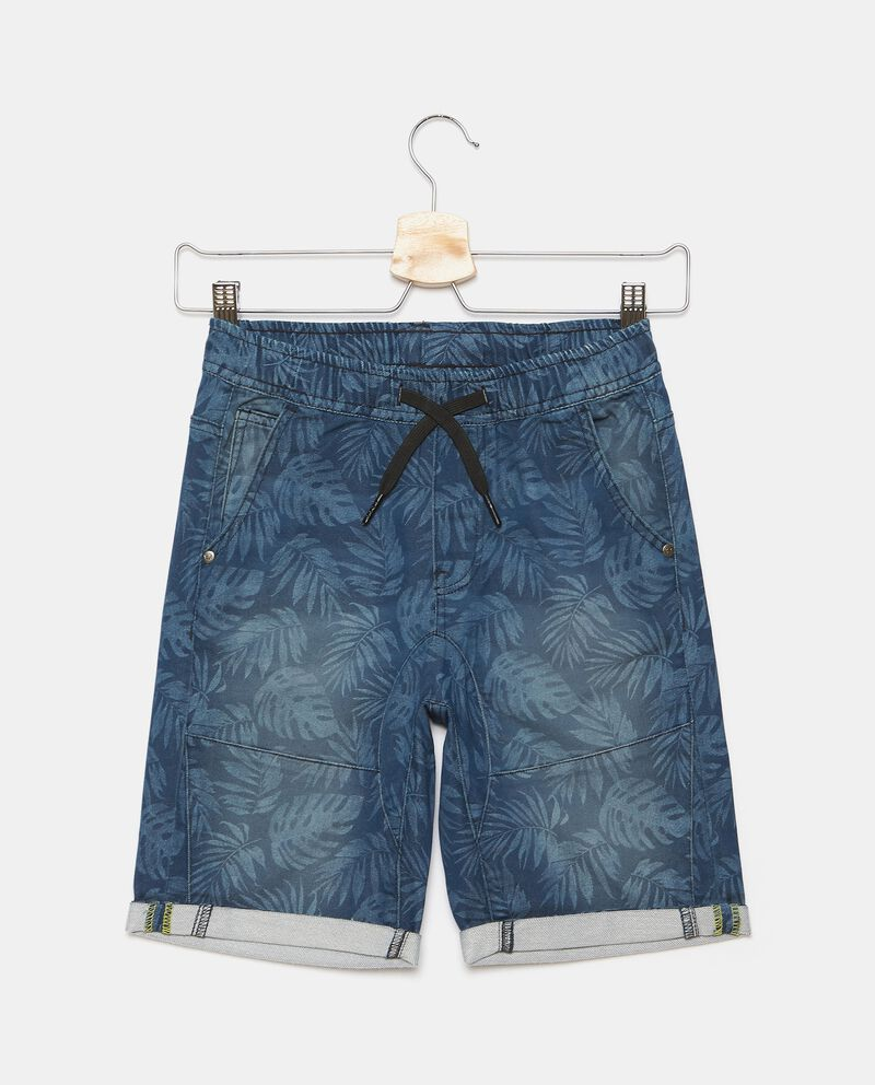 Shorts in felpa stampati ragazzo