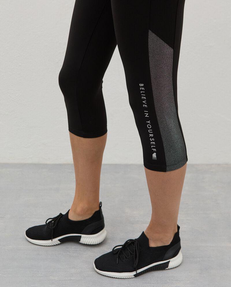 Leggings corsaro Fitness donna single tile 2
