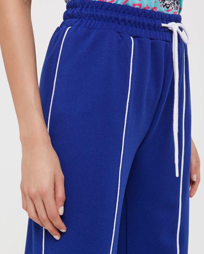 Pantaloni tuta con riga donna