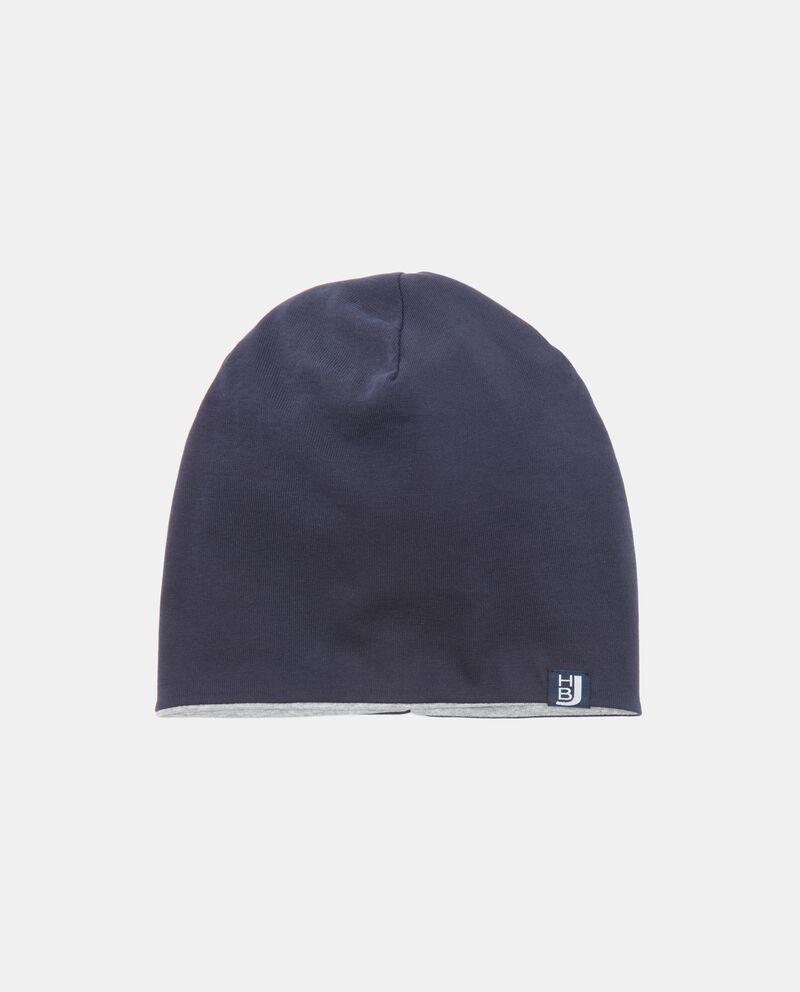 Cappello in tinta unita invernale uomo