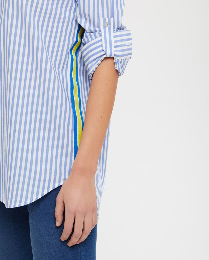 Camicia in puro cotone a righe