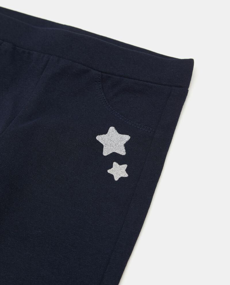 Treggings con stelle glitter neonatadouble bordered 1