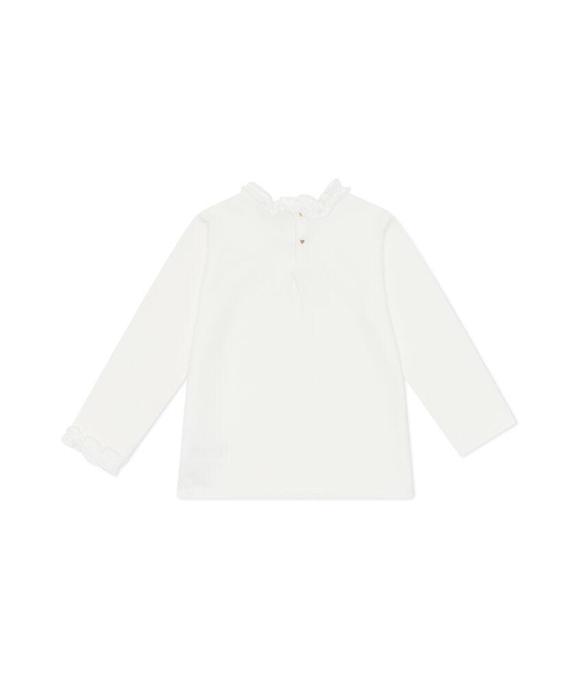 T-shirt maniche lunghe e fiocchetto
