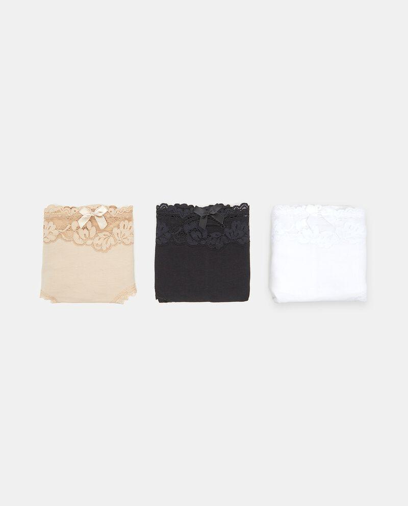 Set culotte in cotone elasticizzato donna
