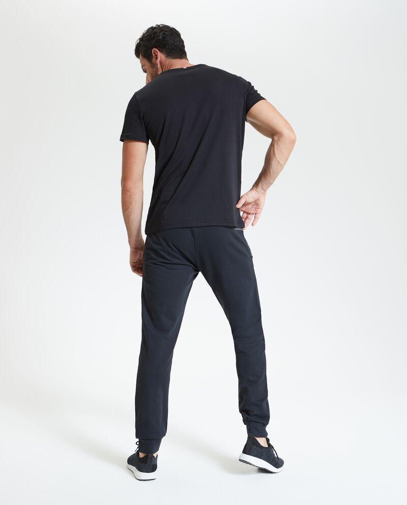 T-shirt stampata fitness uomo