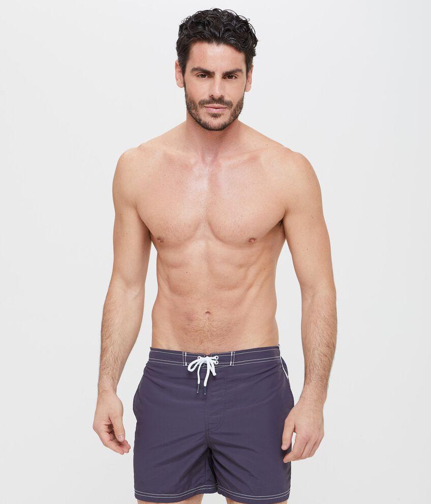 Shorts mare con tasche e bande laterali uomo