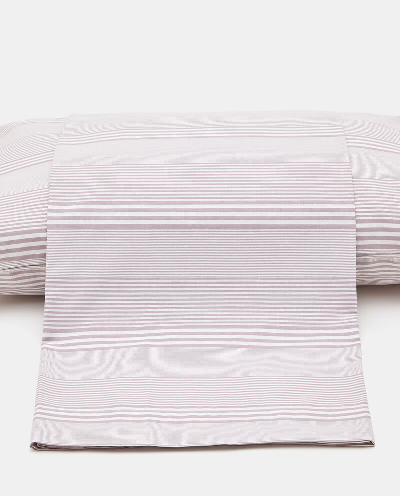 Copripiumino in puro cotone a righe