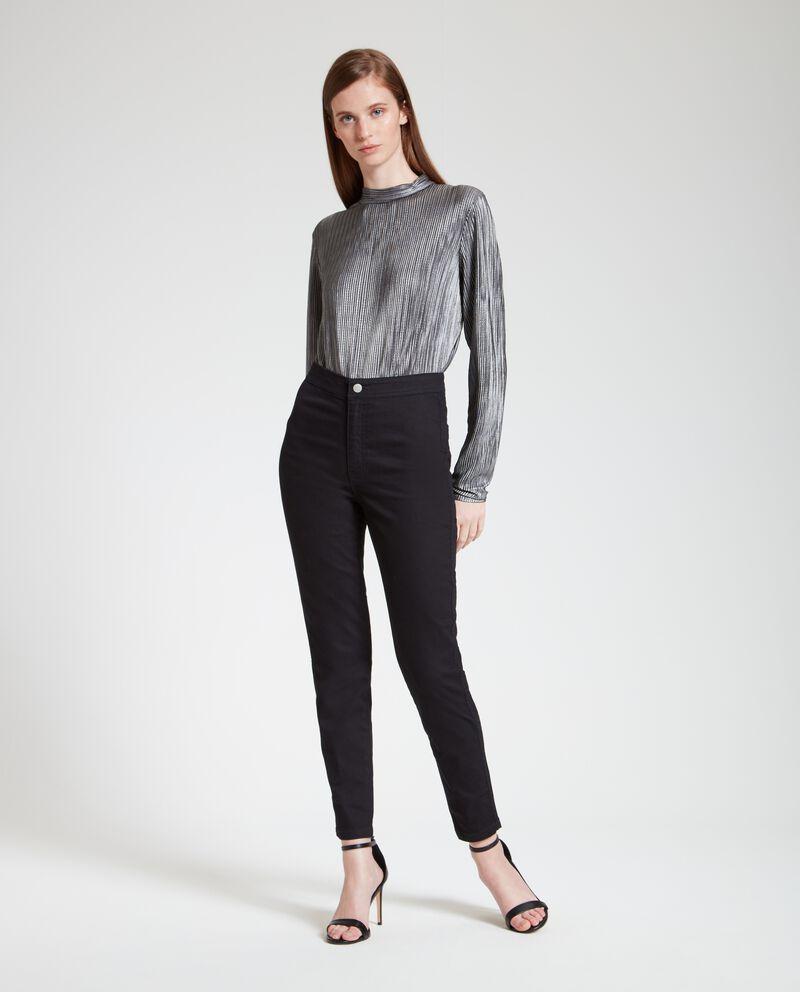 Pantaloni donna a vita alta
