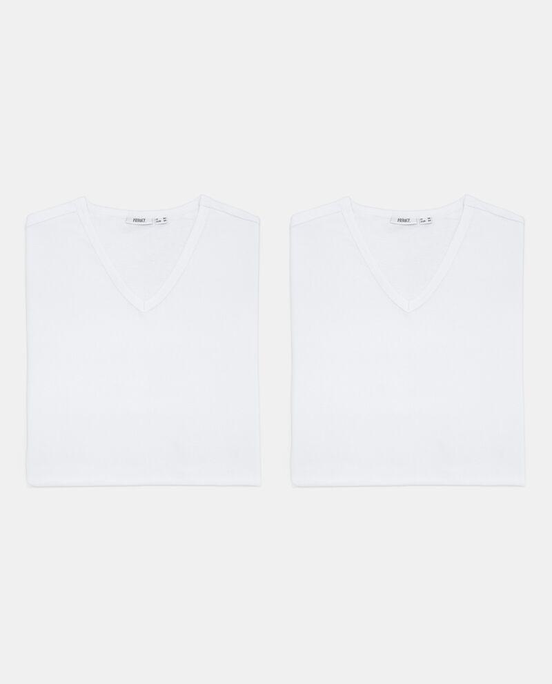 Bipack t-shirt tinta unita intime uomo