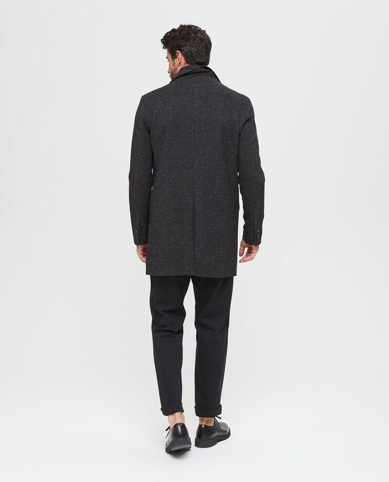 Cappotto mélange uomo