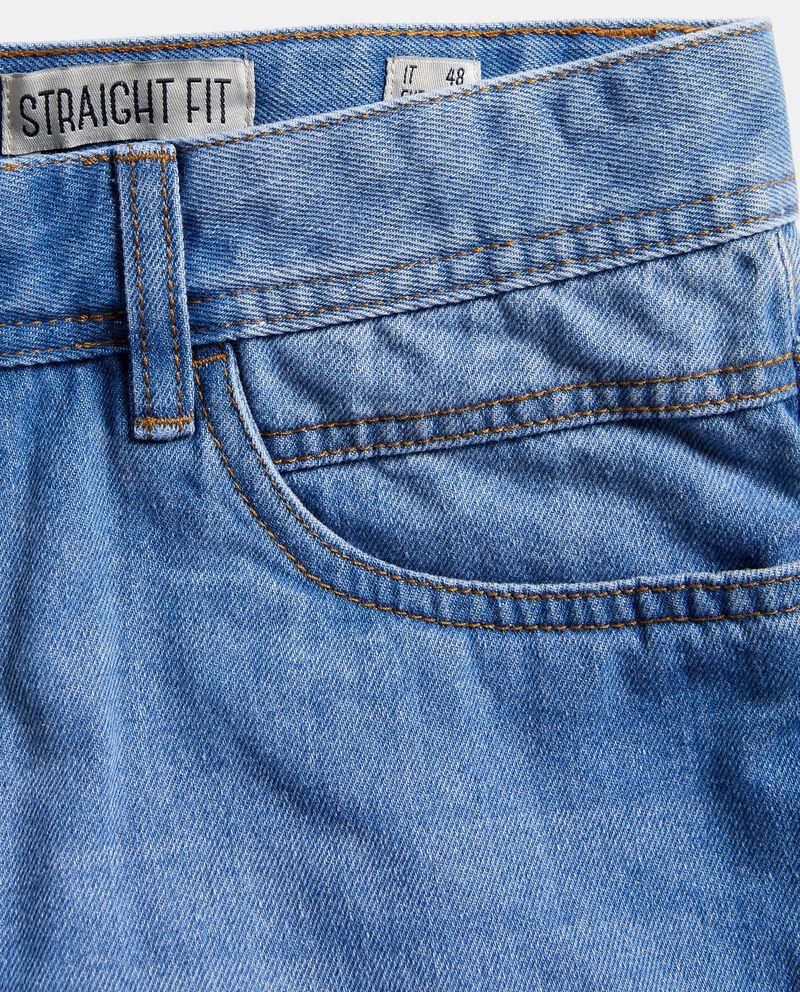 Bermuda jeans straight uomo