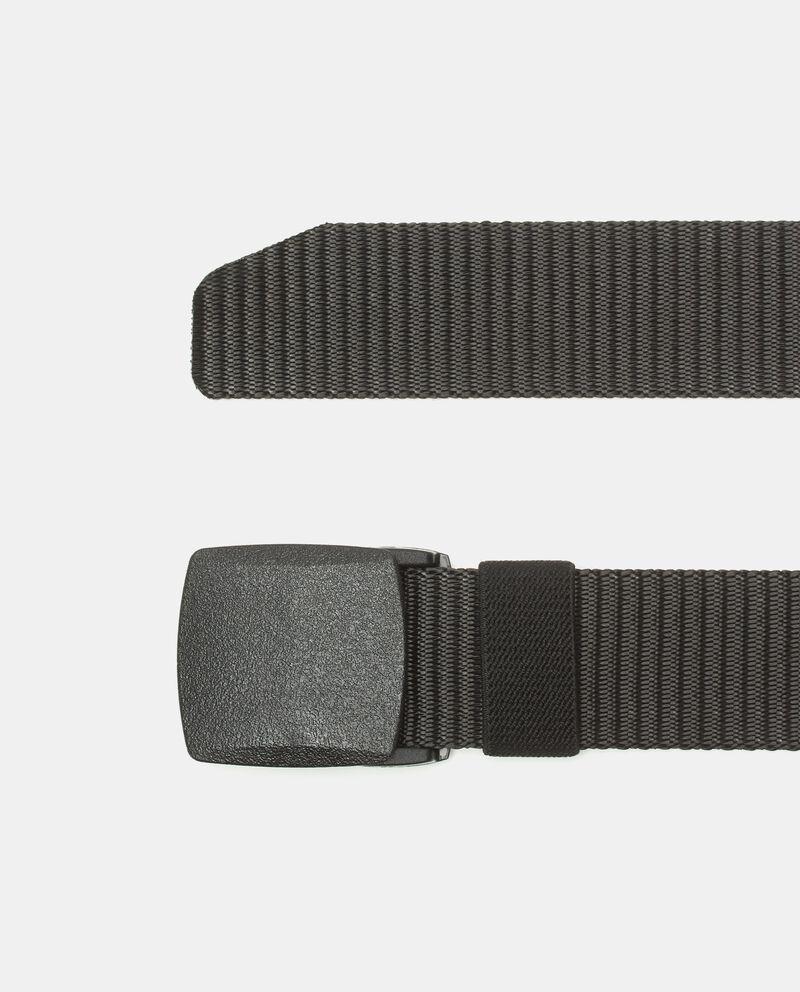 Cintura sportiva in tessuto uomo