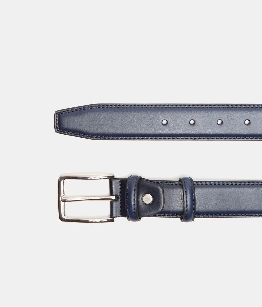 Cintura lucida in eco pelle uomo double 1