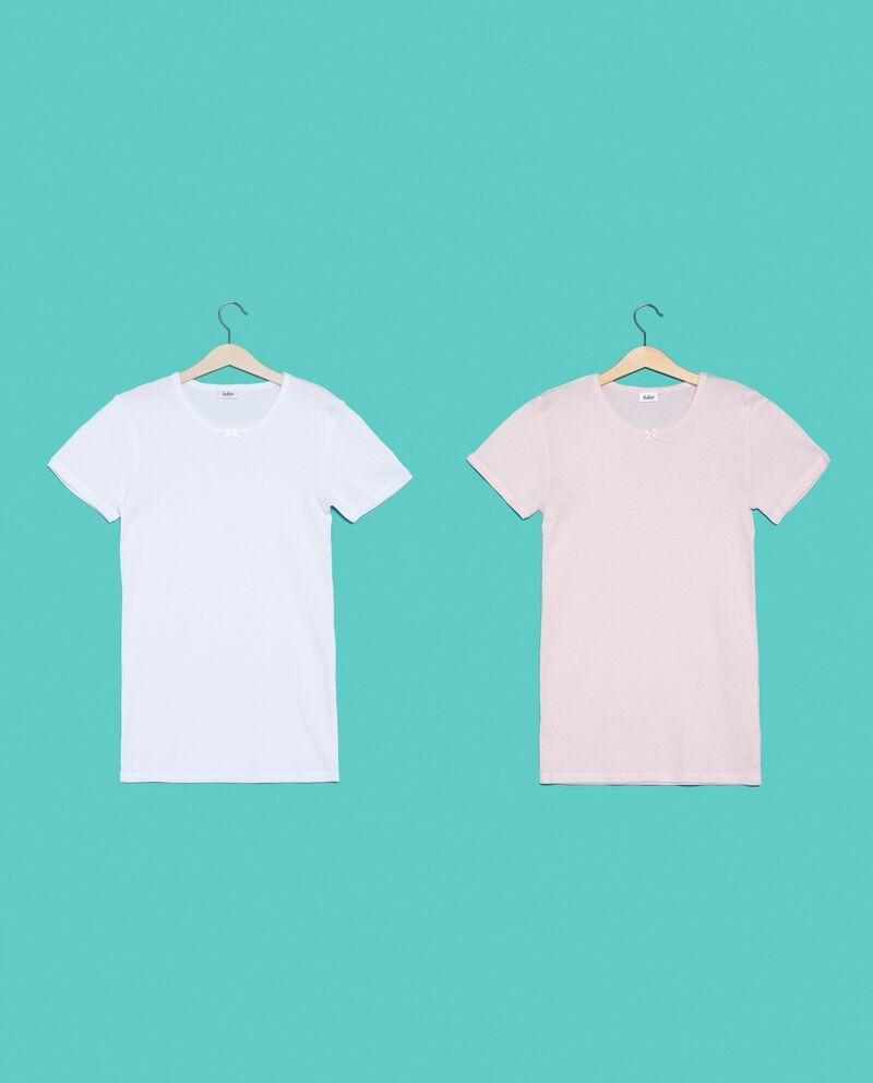 Bipack t-shirt in puro cotone ragazza