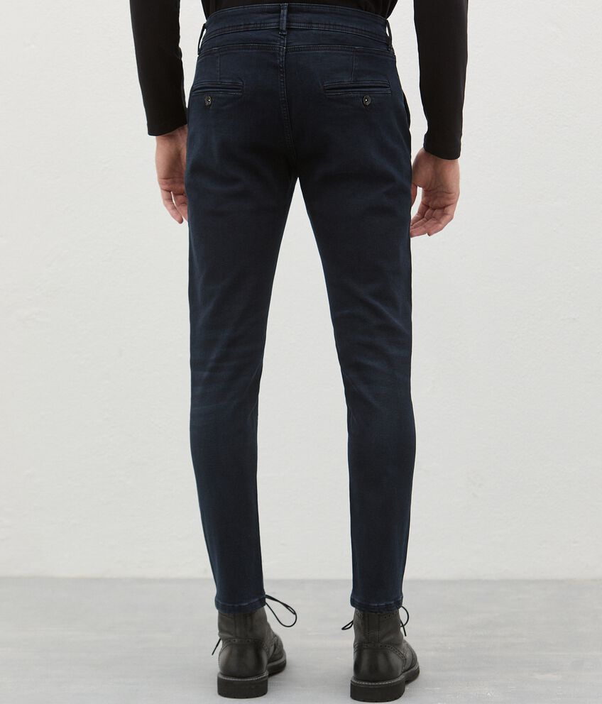 Jeans di cotone stretch uomo double 2