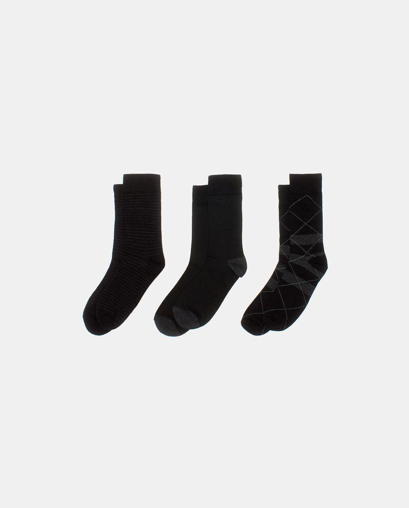 Tripack calzini corti uomo