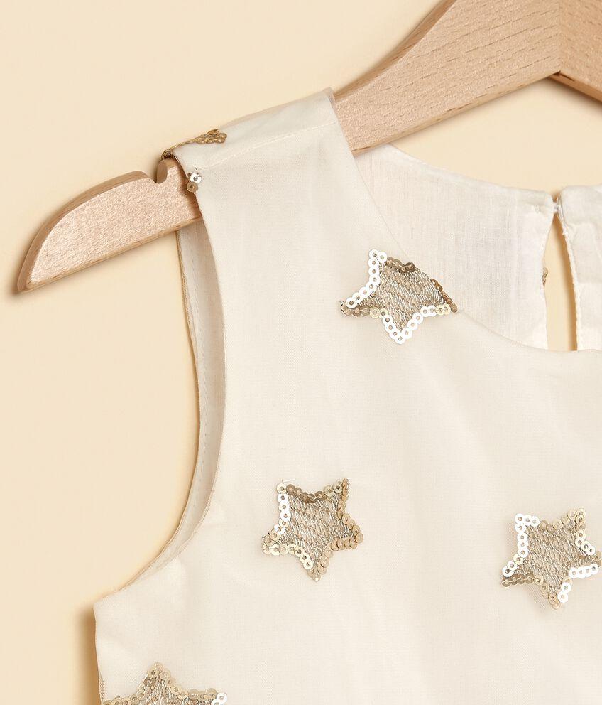 Vestito con fantasia stelline bambina