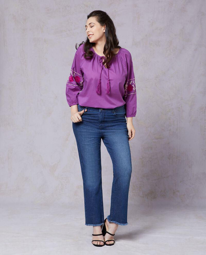Jeans regular fit donna taglie comode