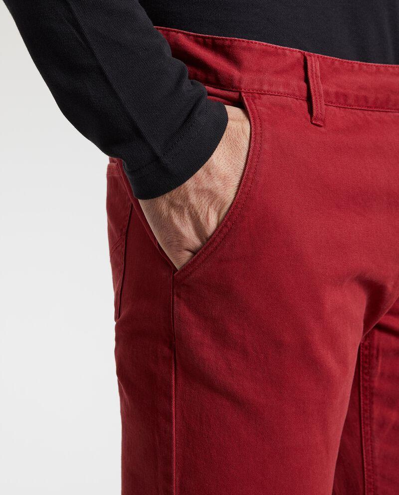 Pantaloni tinta unita uomo
