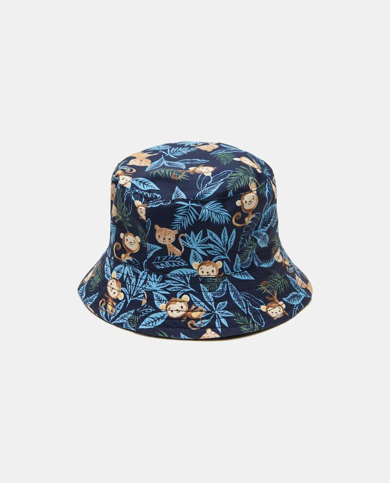 Cappello alla pescatora con stampa neonato
