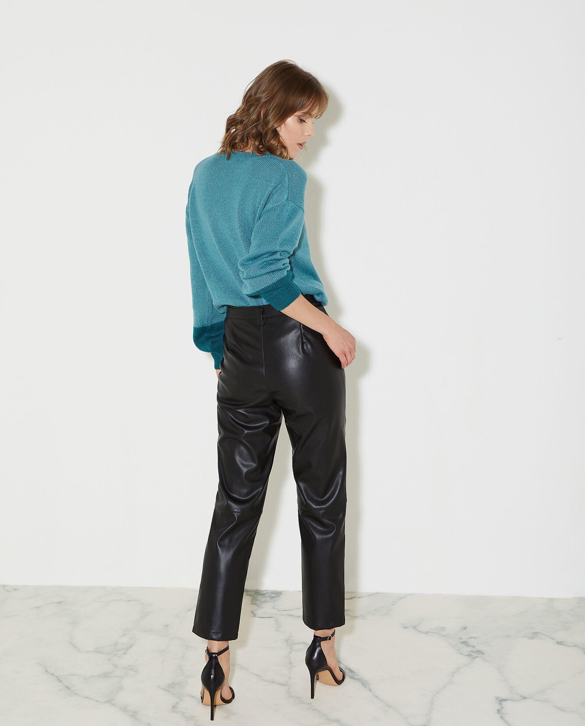 Pantaloni in eco pelle donna