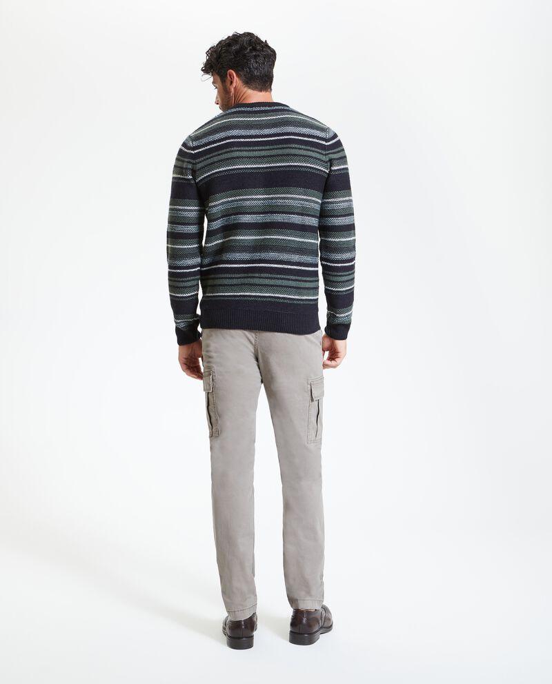 Pullover a righe uomo