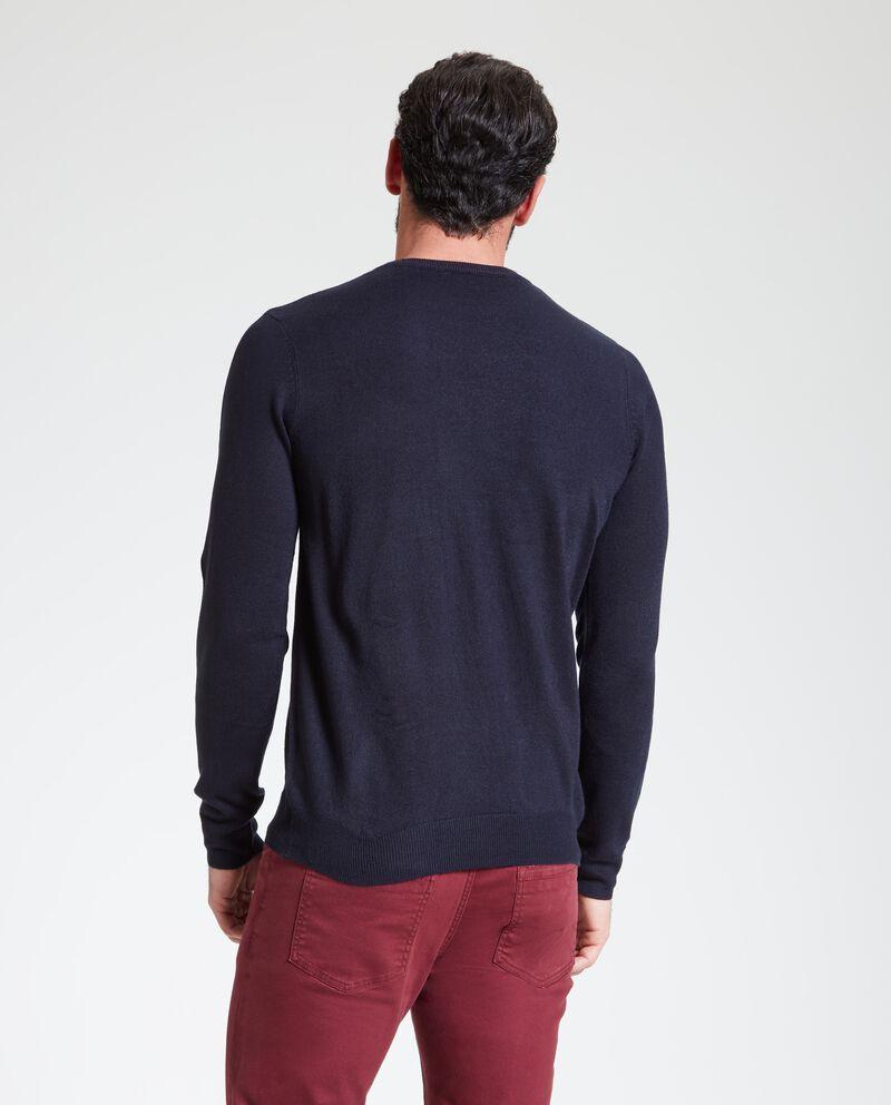 Pullover uomo in tinta unita single tile 1
