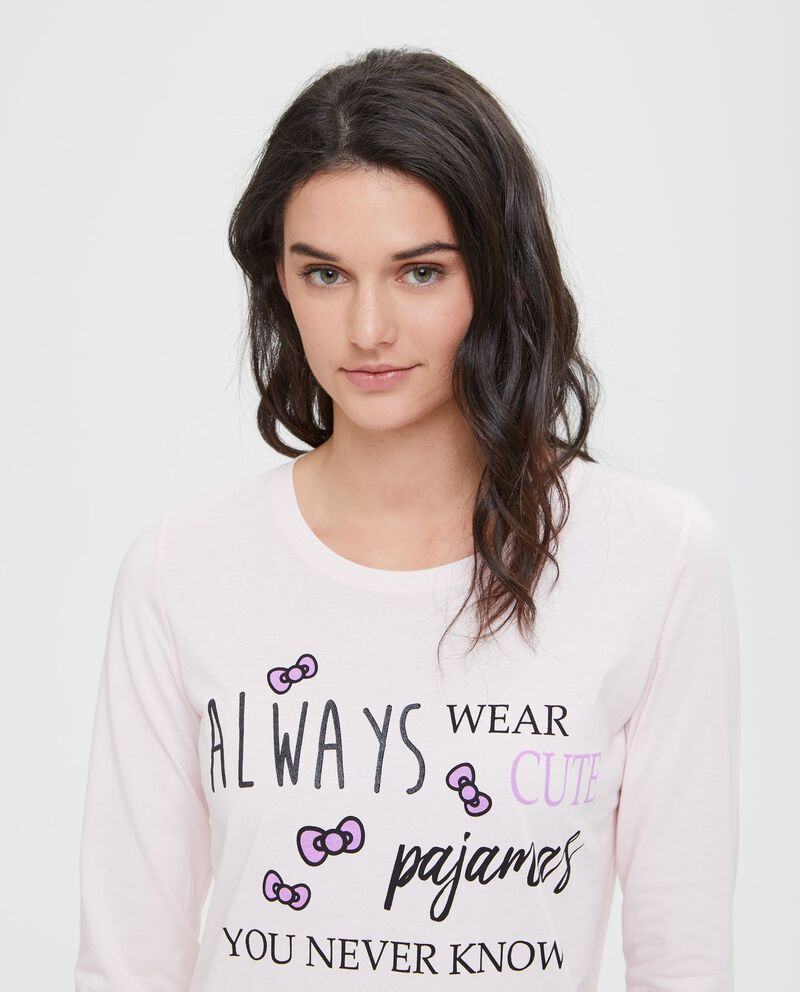 Camicia da notte puro cotone Hello Kitty