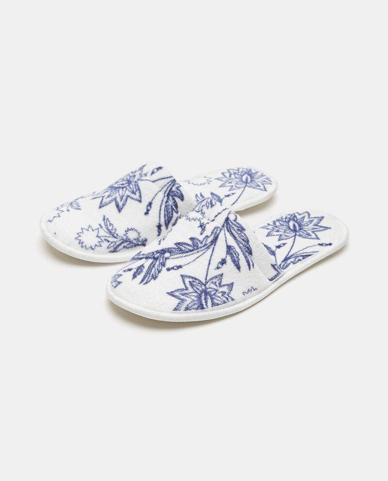Pantofole con fantasia fiori cover