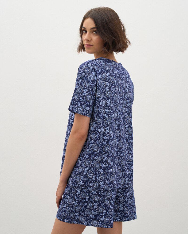 T-shirt pigiama in puro cotone donna single tile 1